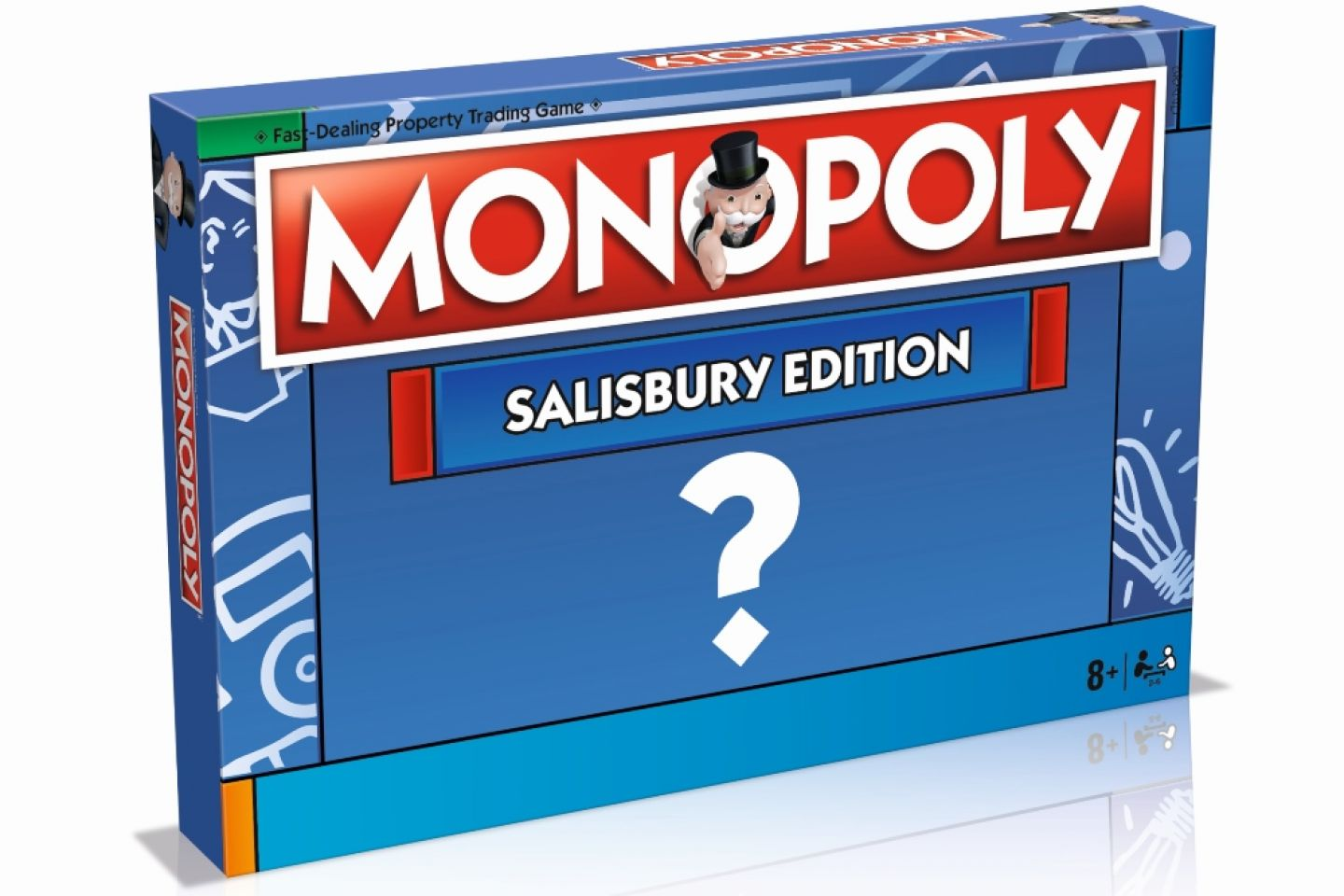 Help us before 26th February to feature on Salisbury's official Monopoly board!!!